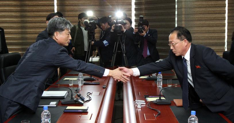 Rozmowy państw koreańskich zakończyły się fiaskiem /KOREA POOL  /AFP