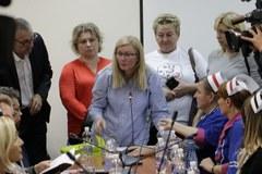 Rozmowy pielęgniarek z ministrem zdrowia w Centrum Dialog