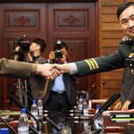 Rozmowy wojskowych przedstawicieli obu państw koreańskich w Panmudżonie