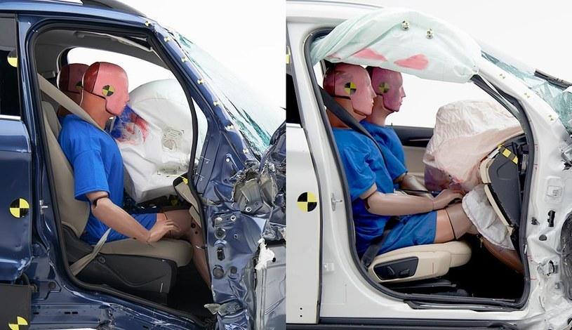 Różnice między Fordem (z lewej) i BMW (z prawej) widać gołym okiem /