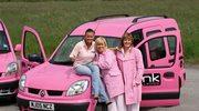 Różowe taksówki dla kobiet