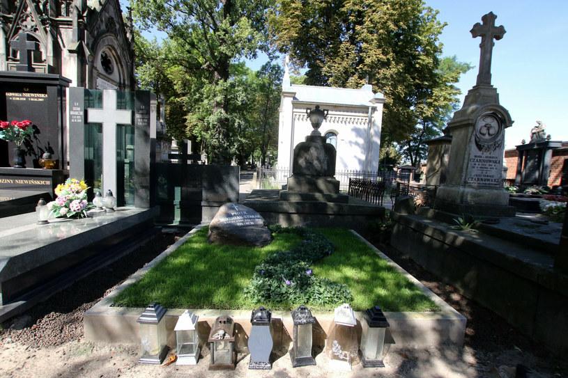 Rozpoczął się remont grobu Piotra Woźniaka-Staraka /Marek Zieliński / Super Express /East News