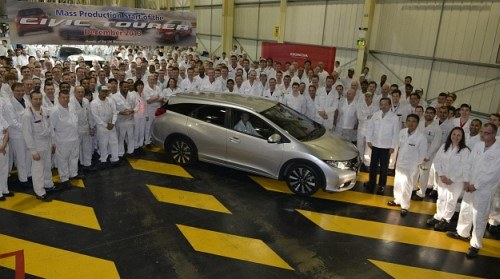 Rozpoczęcie produkcji Civica Tourer /Honda