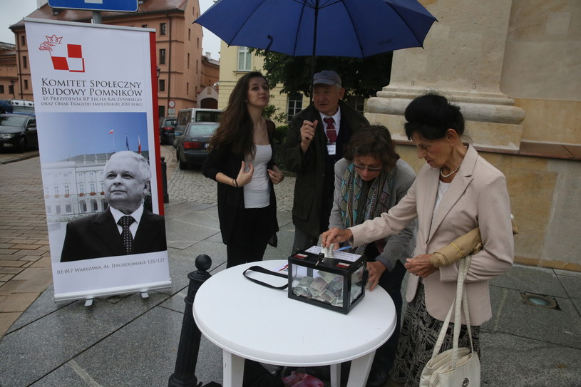 Rozpoczęcie zbiórki publicznej na budowę pomników: Ofiar Tragedii Smoleńskiej /Tomasz Gzell /PAP