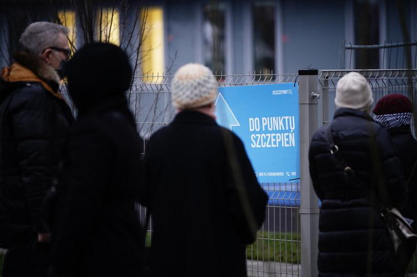 Rozpoczęły się szczepienia seniorów /Mateusz Wlodarczyk /Agencja FORUM