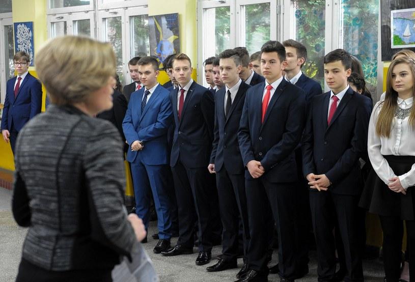 Rozpoczyna się egzamin gimnazjalny 2017 /Fot. Lukasz Solski /East News