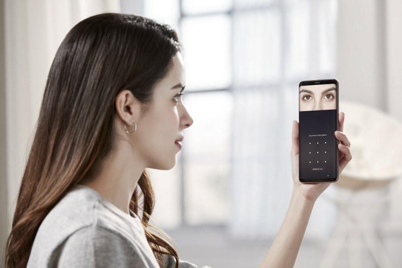 Rozpoznawanie twarzy lub skaner tęczówki - jeden ze sposobów na zabezpieczenie smartfonu /materiały prasowe