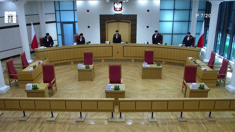 Rozprawa przed TK w sprawie środków tymczasowych TSUE /Trybunał Konstytucyjny /