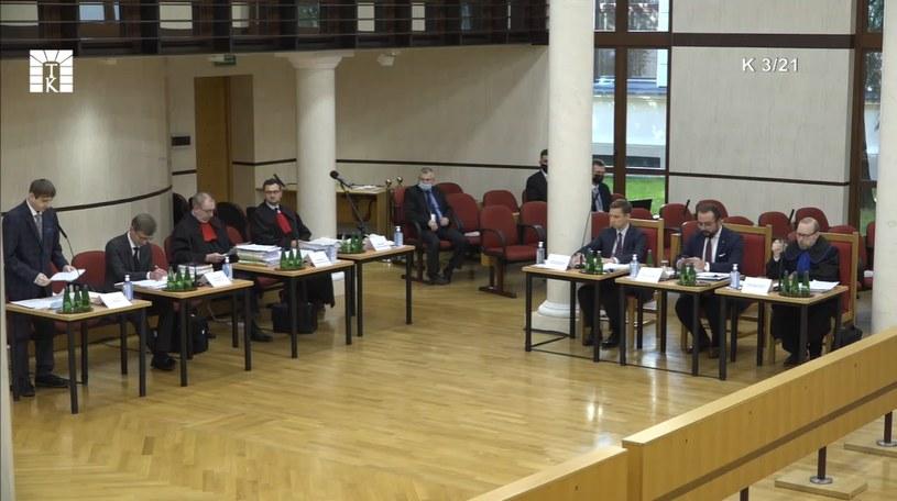 Rozprawa w TK ws. wyższości prawa unijnego nad krajowym /Trybunał Konstytucyjny /