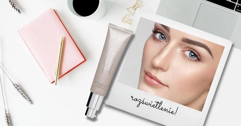 Rozświetlacz w kremie Skin Perfecting Illuminator Note Cosmetique /materiały prasowe