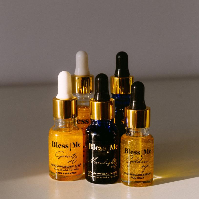 Rozświetlający Saint Oil marki Bless Me Cosmetics /INTERIA.PL/materiały prasowe