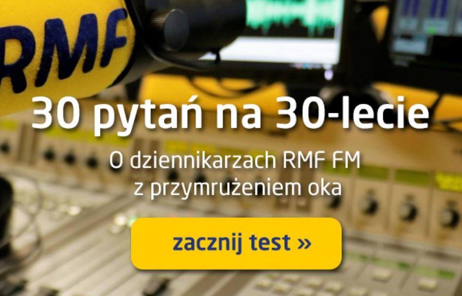 Rozwiąż quiz o dziennikarzach RMF FM /RMF FM