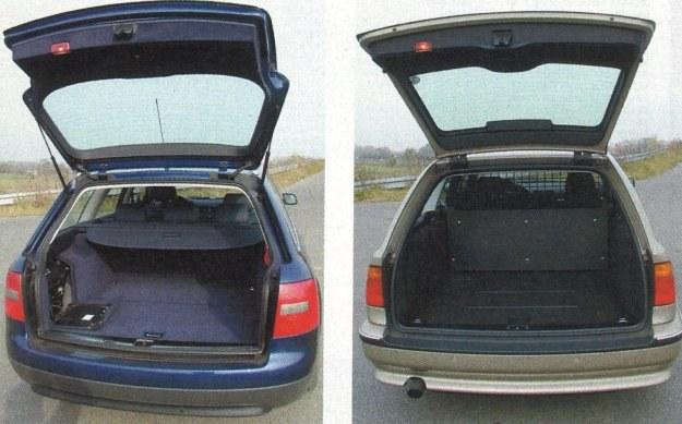 Rozwiązanie przestrzeni bagażowej jest w obu autach podobne, tak jak i pojemność obu bagażników. /Motor