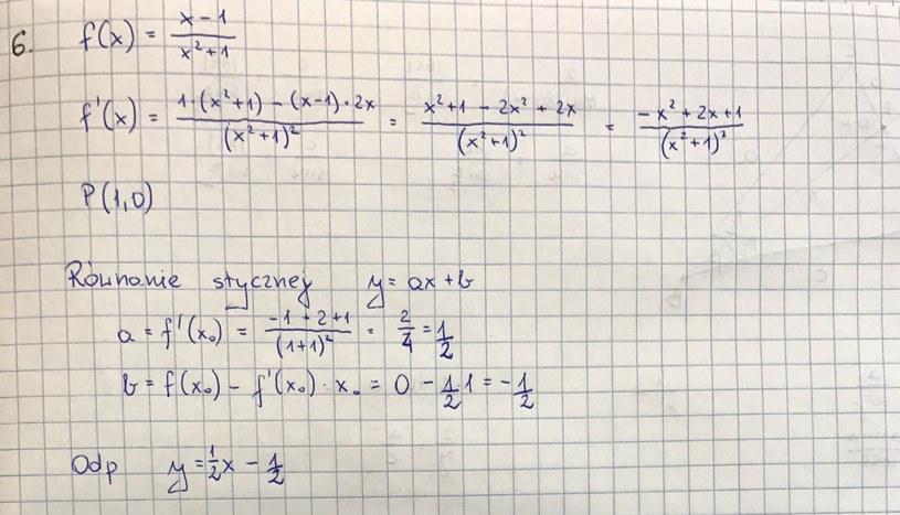 Rozwiązanie zad. 6, str. 4 /INTERIA.PL