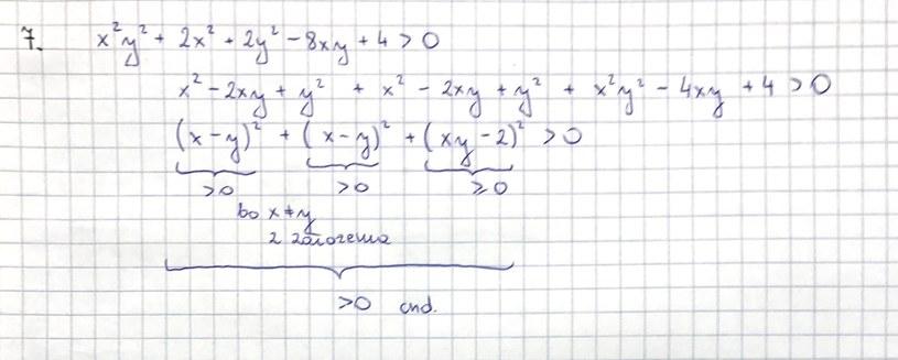 Rozwiązanie zad. 7 (str. 5) /INTERIA.PL