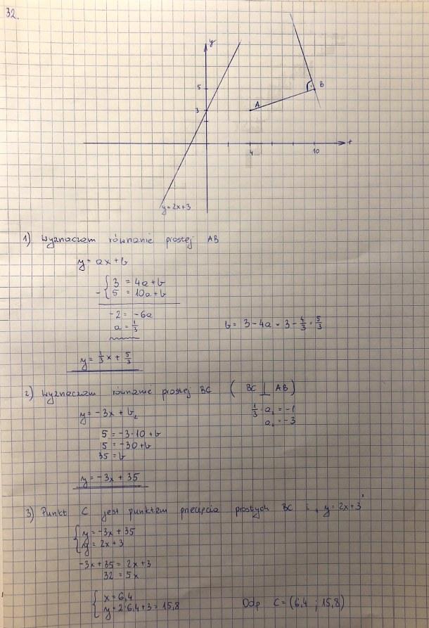 Rozwiązanie zadania 32 /INTERIA.PL