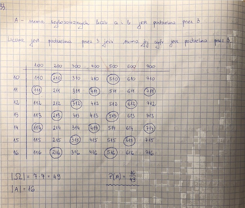 Rozwiązanie zadania 33 /INTERIA.PL