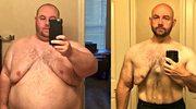 Rozwiódł się z żoną i schudł... 80 kilogramów