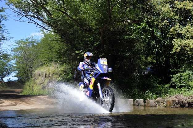 Ruben Faria, najszybszy motocyklista na pierwszym OS /AFP