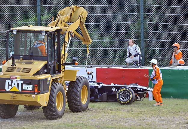 Rubens Barrichello pożegnał się z Formułą 1 /AFP