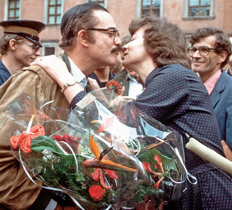 Rubens de Falco uwielbiał towarzystwo kobiet i czuł się w Polsce jak ryba w wodzie /Tele Tydzień