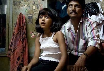 Rubina Ali ze swym wujkiem - fot. Ritam Banerjee /Getty Images/Flash Press Media