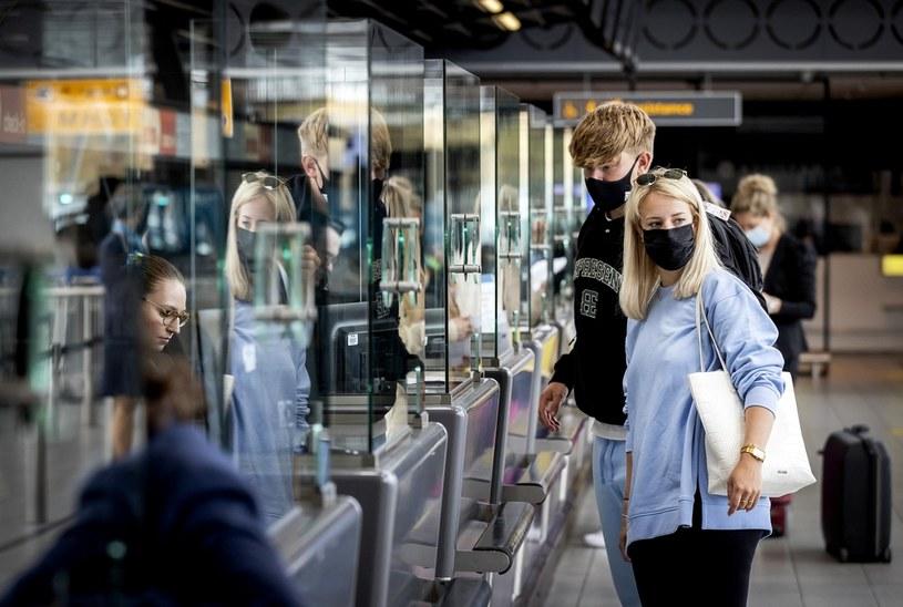 Ruch na lotnisku /AFP