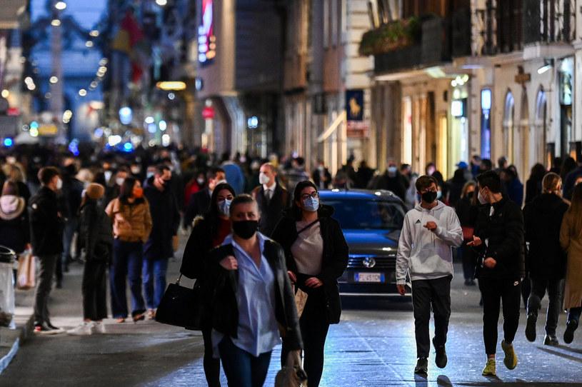 Ruch na ulicach stolicy Włoch /AFP