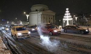 Ruch uliczny  w Warszawie
