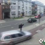Ruda Śląska: Samochód wypadł z drogi. Pieszy oszukał przeznaczenie