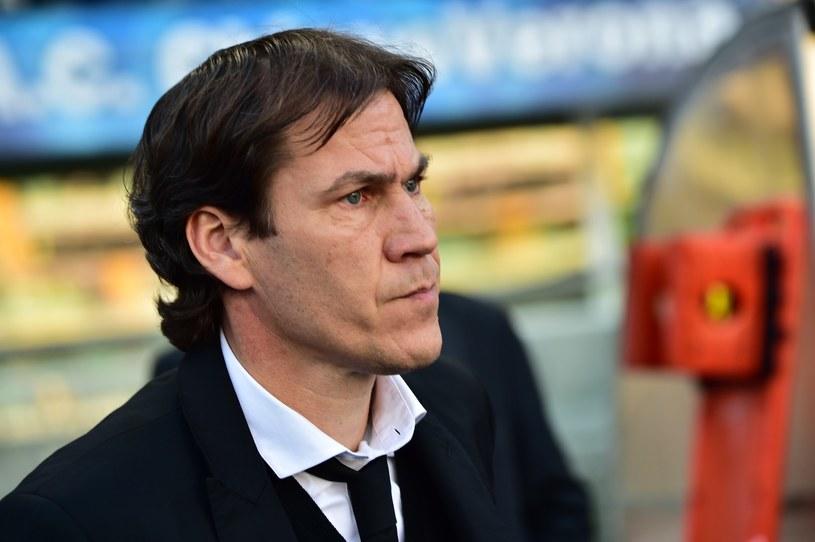 Rudi Garcia w roli szkoleniowca Romy /AFP