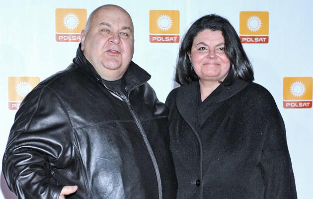 Rudi Schuberth z żoną /fot.Andrzej Szilagyi  /MWMedia