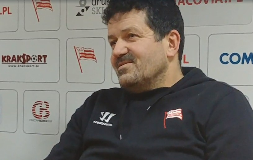 Rudolf Rohaczek - Alex Ferguson Comarch Cracovii. Prowadzi zespół prawie 15 lat. /INTERIA.PL