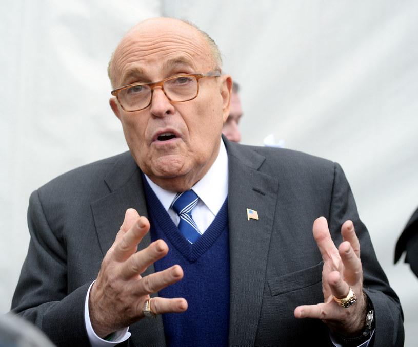 Rudy Giuliani /Jan Bielecki /East News