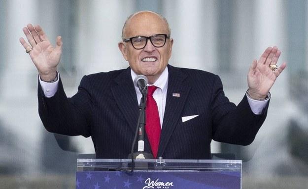 Rudy Giuliani /MICHAEL REYNOLDS    /PAP/EPA
