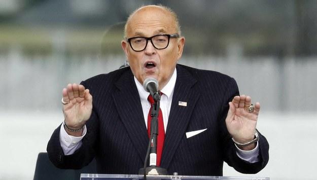 Rudy Giuliani /Gripas Yuri/ABACA  /PAP/EPA