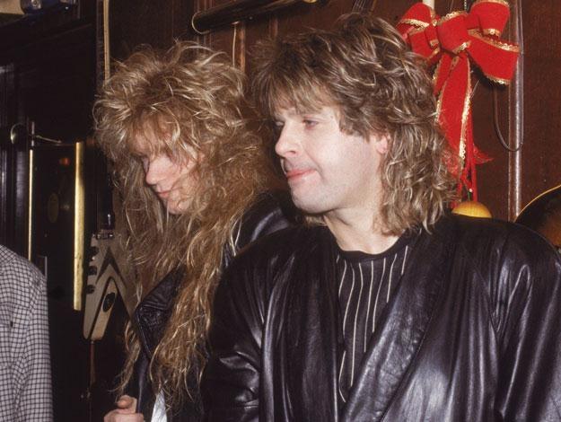 Rudy Sarzo i Ozzy Osbourne w latach 80. fot. Hulton Archive /Getty Images/Flash Press Media