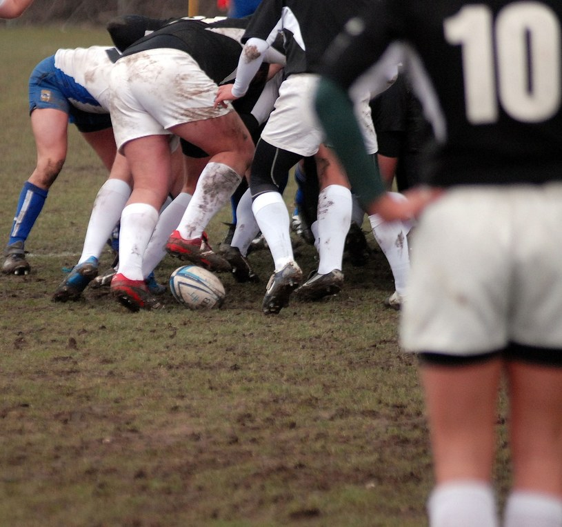Rugby to piękny sport /Fot. Michał Lasyk /Reporter