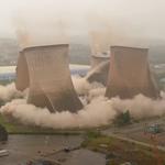 Rugeley: Spektakularne wyburzenie wież elektrowni