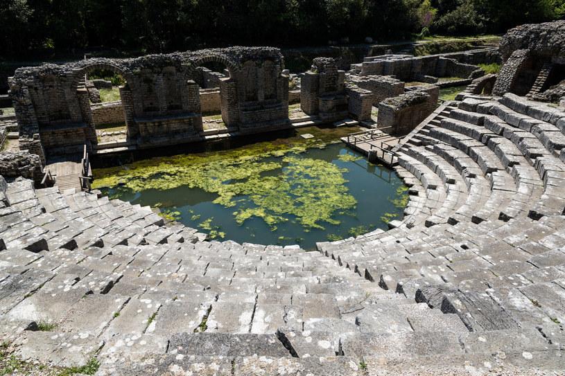 Ruiny amfiteatru w Butrint /123RF/PICSEL