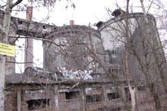 Ruiny cementowni w Będzinie