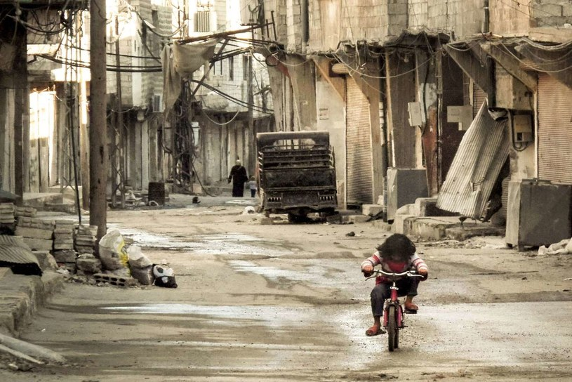 Ruiny Damaszku /AFP