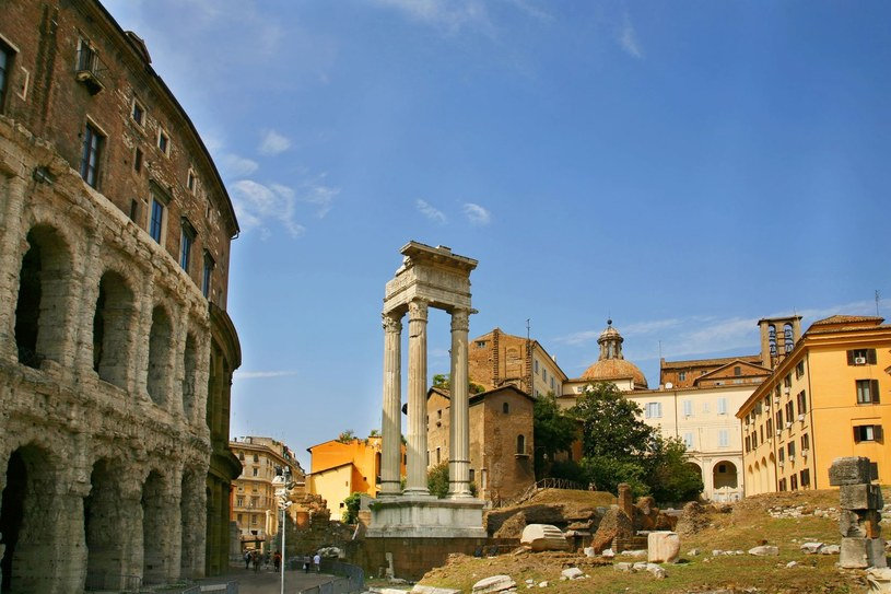 Ruiny teatru Marcello /123RF/PICSEL