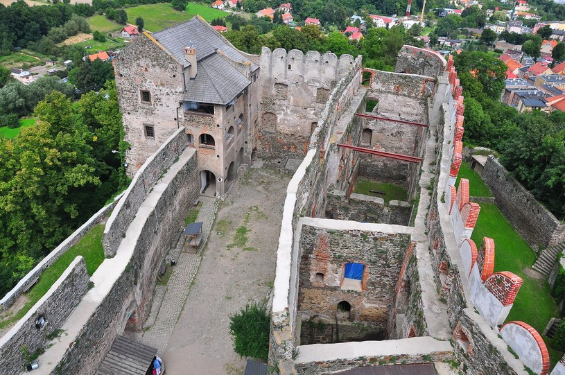 Ruiny zamku w Bolkowie /Wojtek Olszanka