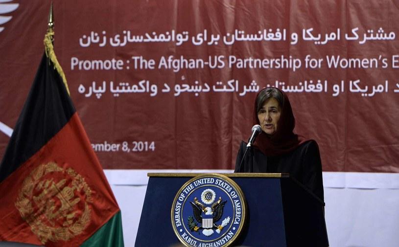 Rula Ghani /AFP