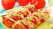 Ruloniki z mięsem i serem