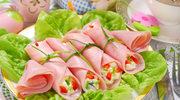 Ruloniki z sałatką