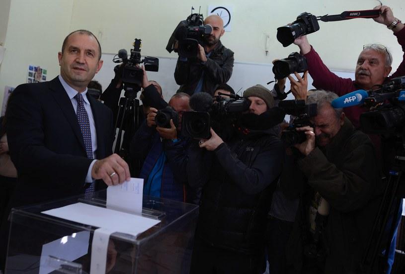 Rumen Radew nowym prezydentem Bułgarii /AFP