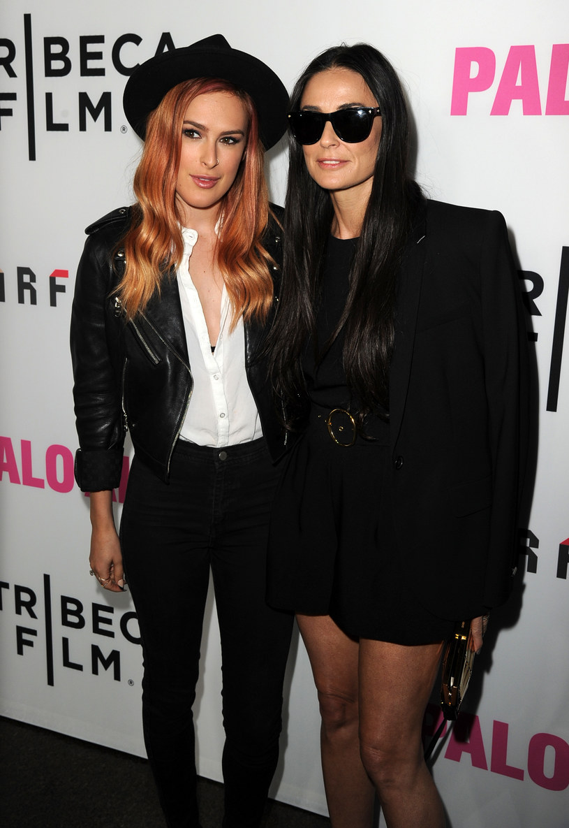 Rumer Willis i Demi Moore /Kevin Winter /Getty Images