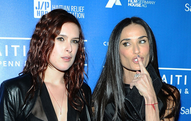 Rumor Willis, Demi Moore /Getty Images/Flash Press Media